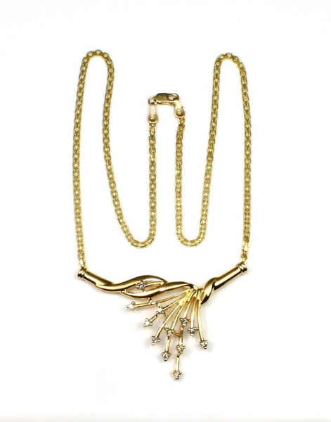 .18ctw Spray Diamond Necklace