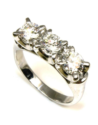 1.00ctw Three Diamond Ring