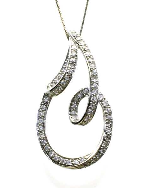 Diamond Free Form Necklace