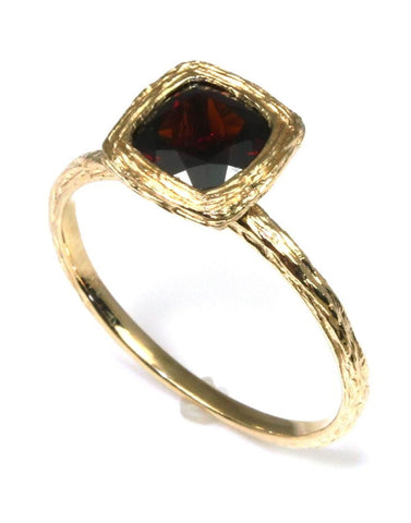 Garnet Rock Candy Ring by Allison Kaufman