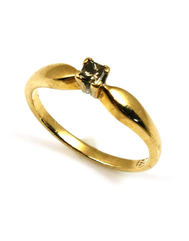 Chocolate Diamond Promise Ring
