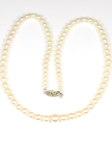 4-8mm Graduated Akoya Pearl Strand