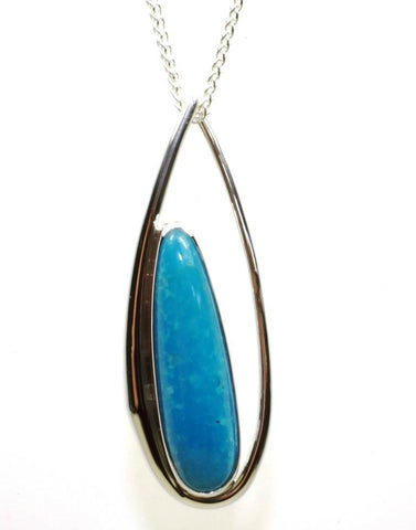 Rockabye Turquoise Necklace by Ed Levin