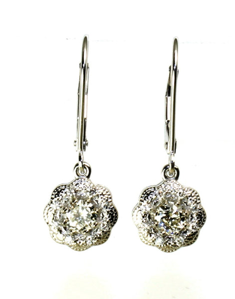 .63ctw Diamond Dangle Earring