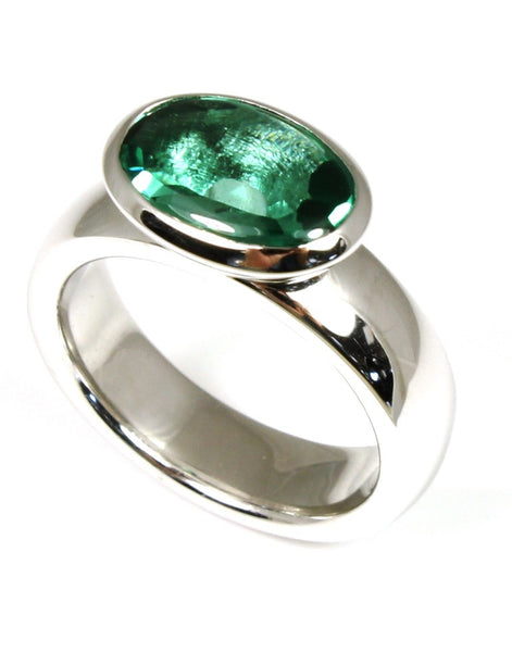 Evergreen Quartz Ring by Bastian-Inverun