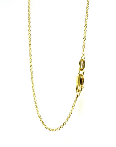 Gold Plated Silver Cable Chain