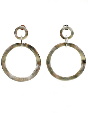 Artisan Circle Earrings by Bastian-Inverun