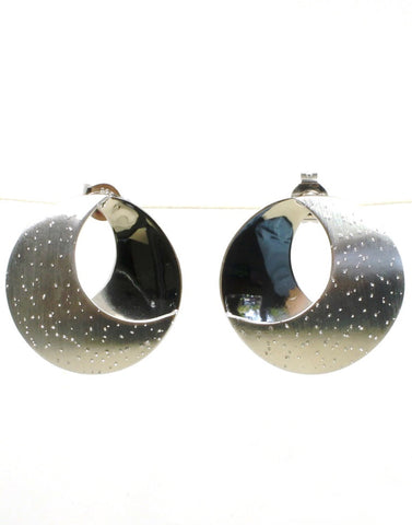 Diamond Dust Moonscape Earrings by Bastian-Inverun