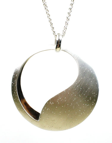 Diamond Dust Eclipse Necklace by Bastian-Inverun