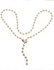 1.00ctw Diamond Station Necklace with a Lariat Clasp
