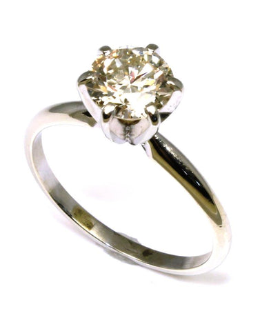 1.49ct Round Diamond Solitaire Ring