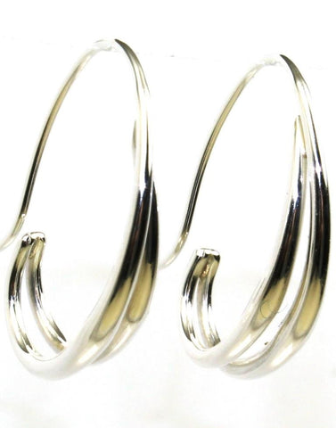 Duo Hoop Earring by Ed Levin