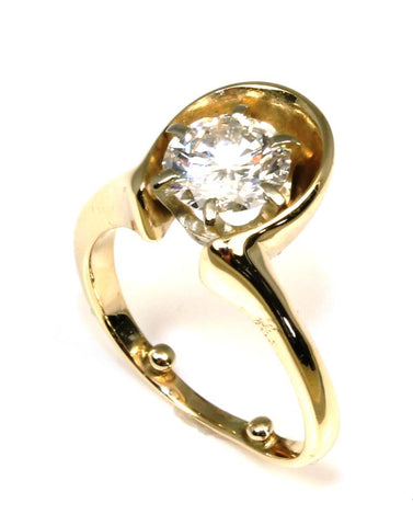 1.35ct Round Diamond Ring
