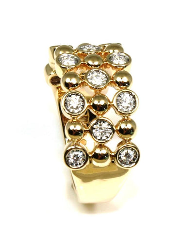 Diamond Champagne Bubbles Ring by Allison Kaufman
