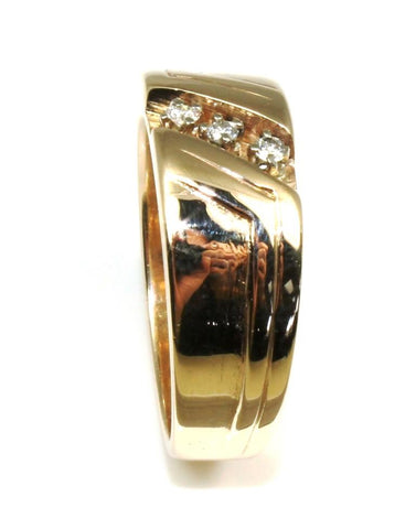 Men's .09 Carat Diamond Band