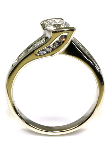 1.00 Carat Total Diamond Engagement Ring