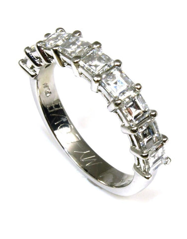 1.62ctw Diamond Square Step Cut Band