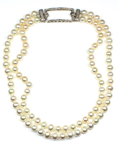 8mm Freshwater Pearl Double Strand