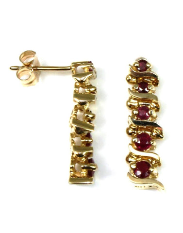 Ruby S Link Earrings