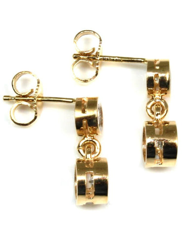 .60ctw Bezel Diamond Earrings