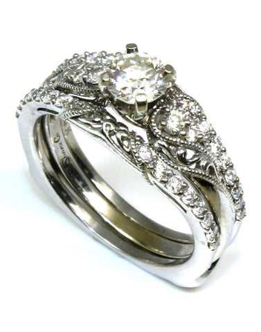 1.00ctw Diamond Bridal Ring Set
