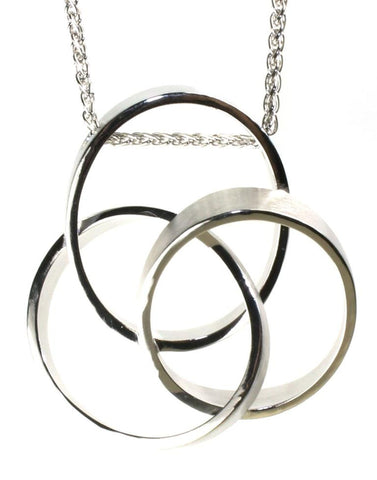 Three Circle Necklace by Bastian Inverun