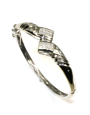 1.78ctw Diamond Bangle Bracelet