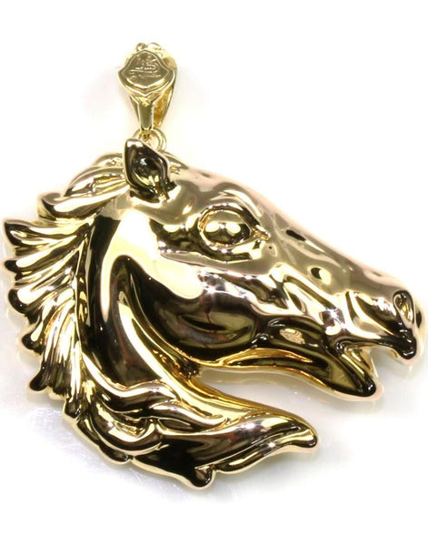 Large Hollow Horse Head Pendant