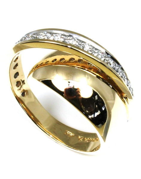 .34ctw Diamond Orbit Ring