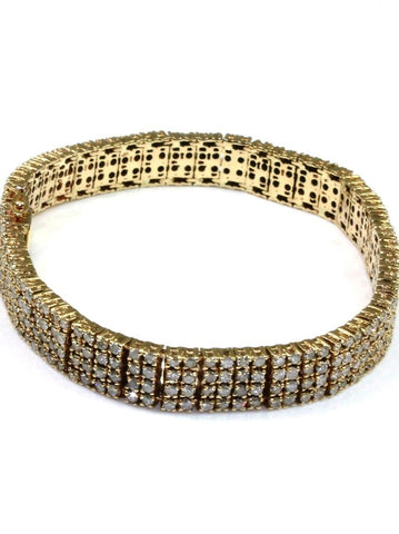 3.64ctw Diamond Tennis Bracelet