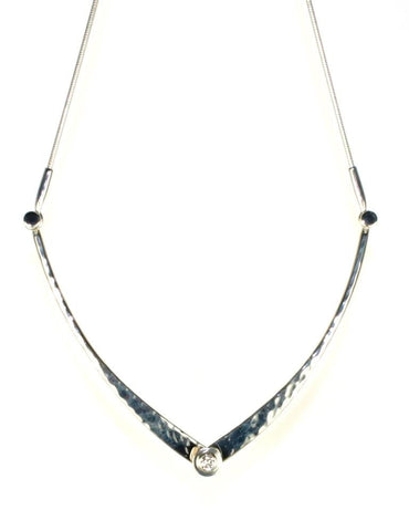 Diamond Sparkle Swing Necklace by Ed Levin
