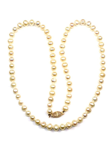 "6mm Potato Pearl 17"" Strand"