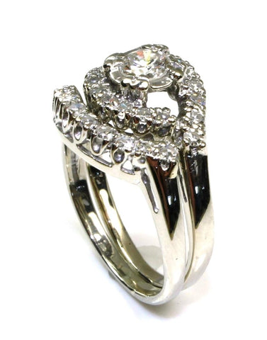 .56ctw Diamond Wedding Ring Set