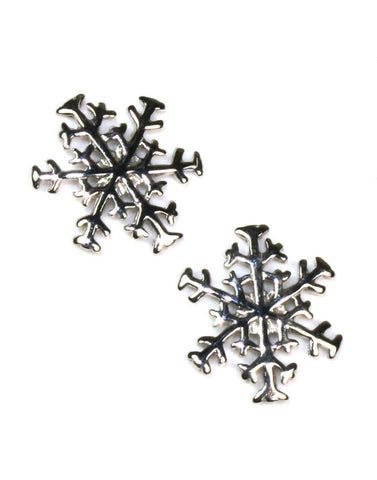 Snowflake Earrings by Carla & Nancy B