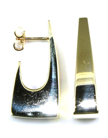 Square Hoop Earrings by Sugarman