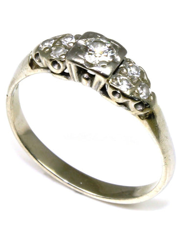 .27ctw Diamond Vintage Style Ring
