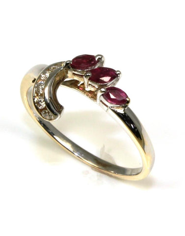 Diamond and Ruby Ring Wrap