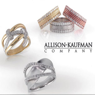 Allison Kaufman designer diamonds, gemstones gold jewelry
