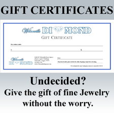 Gift Certificates are perfect gifts for everyone!