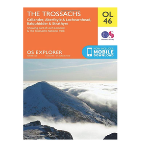 Trossachs National Park - Explorer OL46: The Trossachs. The essential map for intrepid activities in The Trossachs