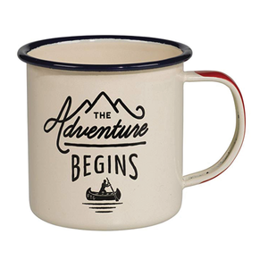Enamel Mug - The Adventure Begins