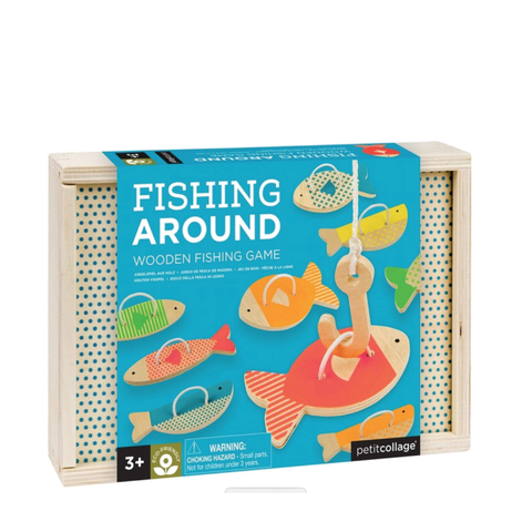 The Fishing Around Wooden Fishing Game is one to get all the family playing together.