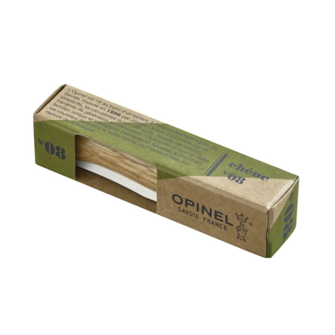 Opinel Pocket Knife - The iconic N°08 pocket knife with a stainless steel blade for excellent corrosion resistance. Its wooden handle makes it feels secure and comfortable in the hand. The N°08 is the most popular knife in the collection. This multi-purpose tool is a real must-have to carry with you day-to-day.