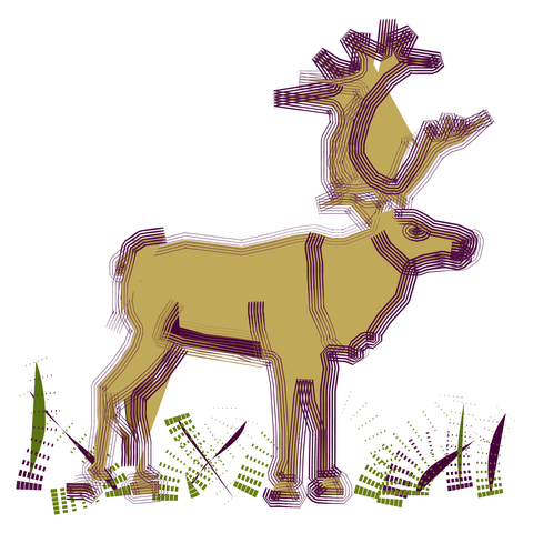 Stags - A charming range of cards from Wendyhouse