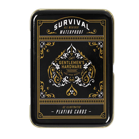 Campfire Survival Waterproof Playing Cards - Gentlemans Hardware