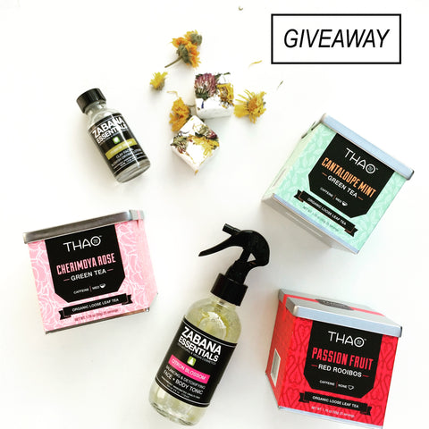 Zabana Essentials Thao Tea Giveaway