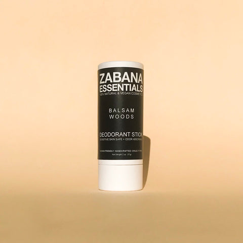 100% NATURAL & VEGAN DEODORANT STICK- BALSAM WOODS