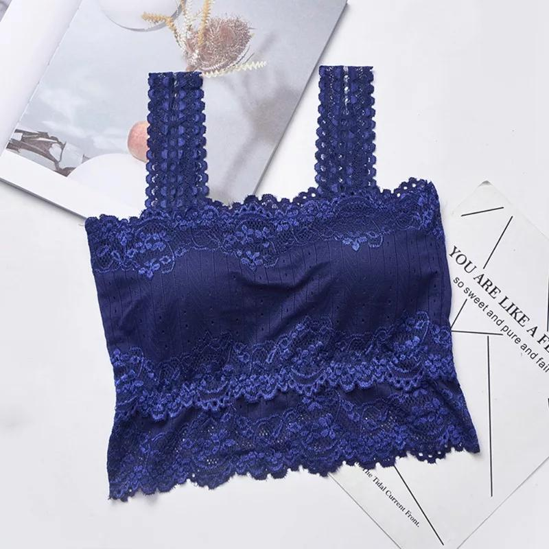 Pack of 3 Embroidered Lace Sexy Tube Top ( 0033 ) - The Women Wears
