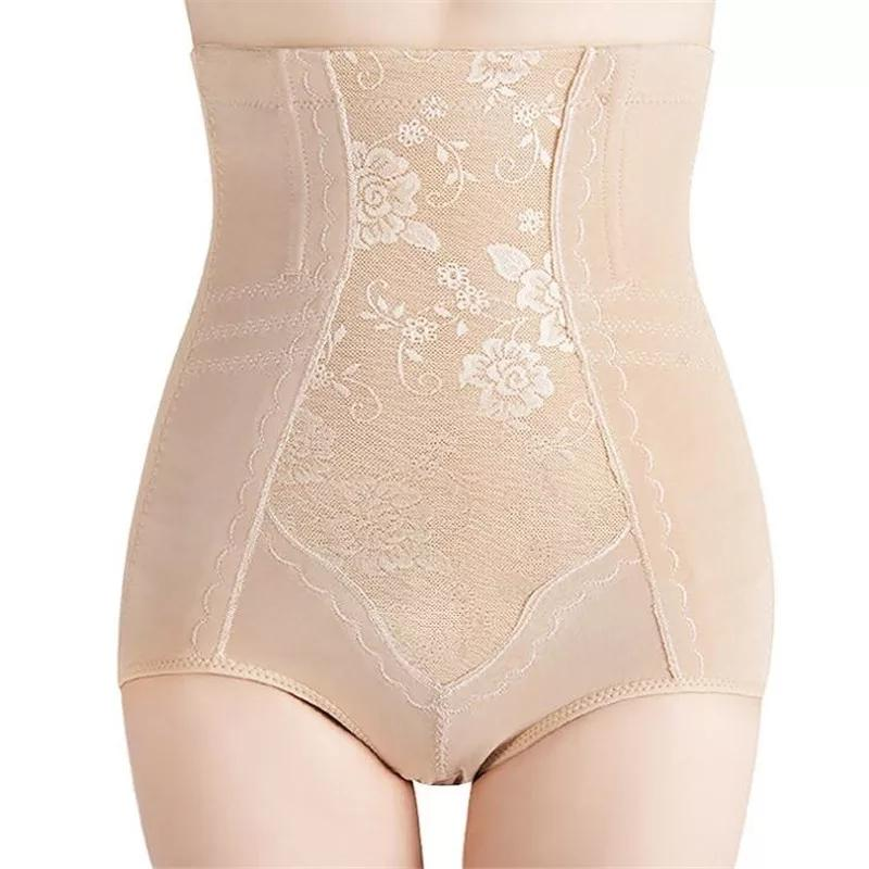 Slim High Waist Ebmroidered Tummy Saper- For Any Waist & Hip  (537) - The Women Wears