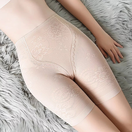 Lace Super Slimming Fat Burning Hip & Thigh Shaper (S1190)